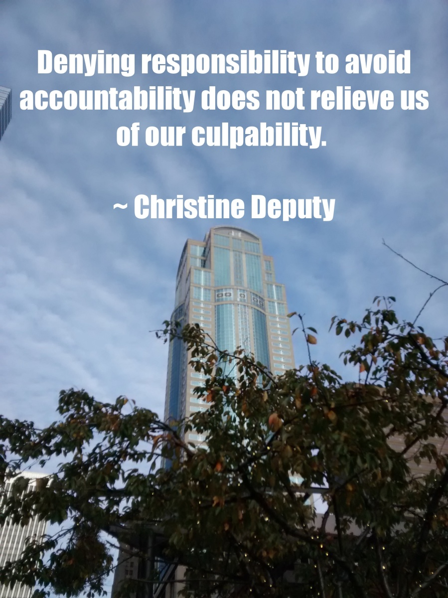 DenyingResponsibility