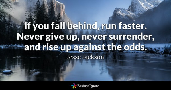 Rise up against the odds by Jesse Jackson