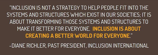 Inclusion-strategy